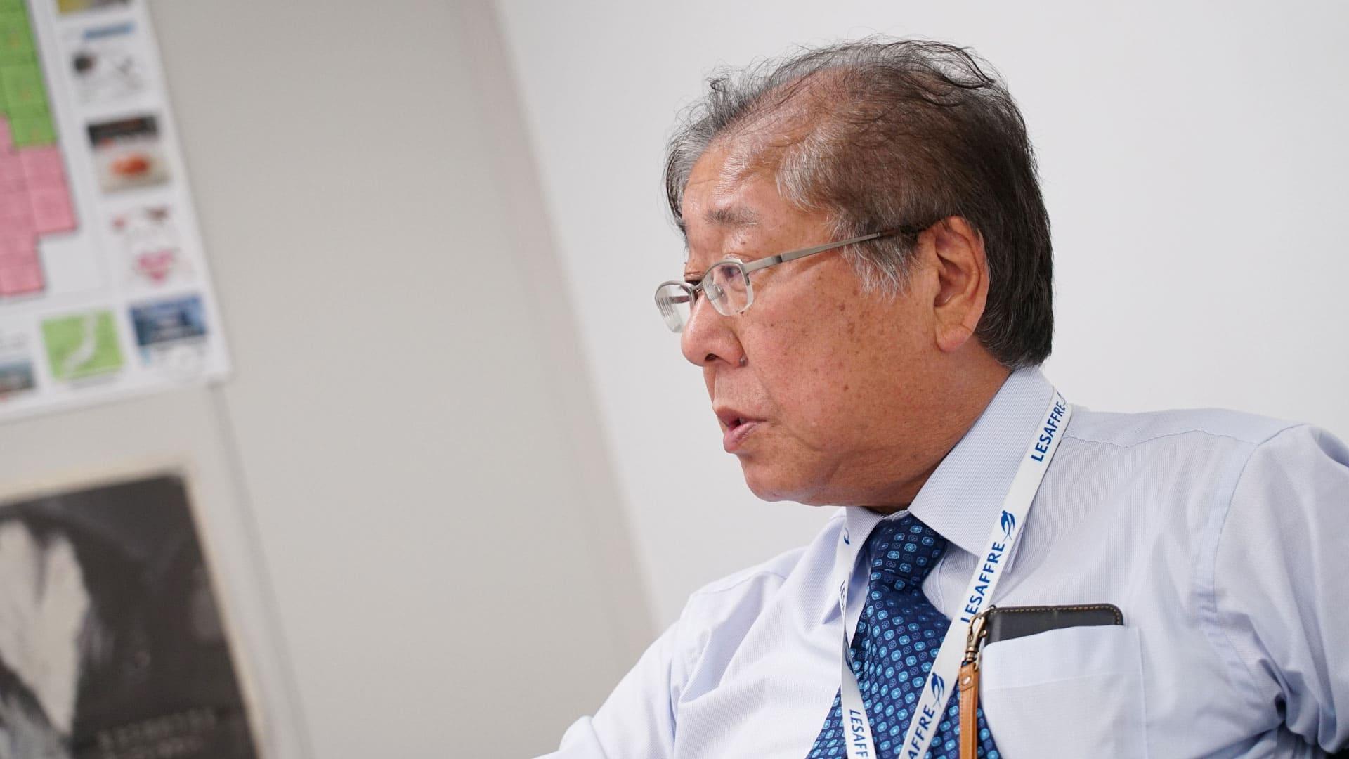 株式会社ワイピーテック 代表取締役社長 飯島秀雄の写真